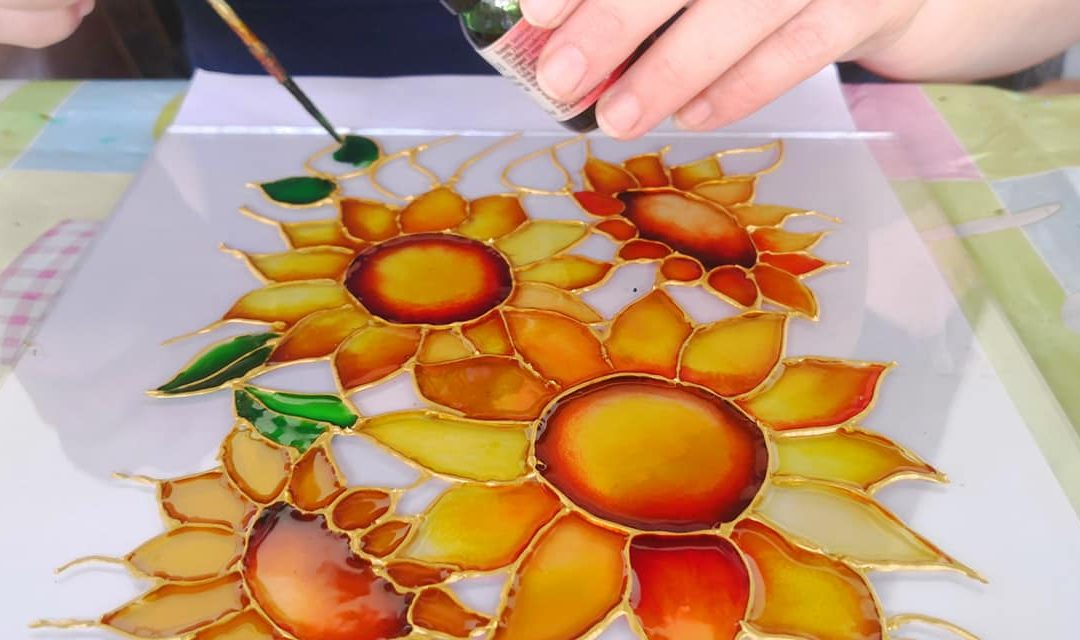 Kezdő üvegfestő tanfolyam